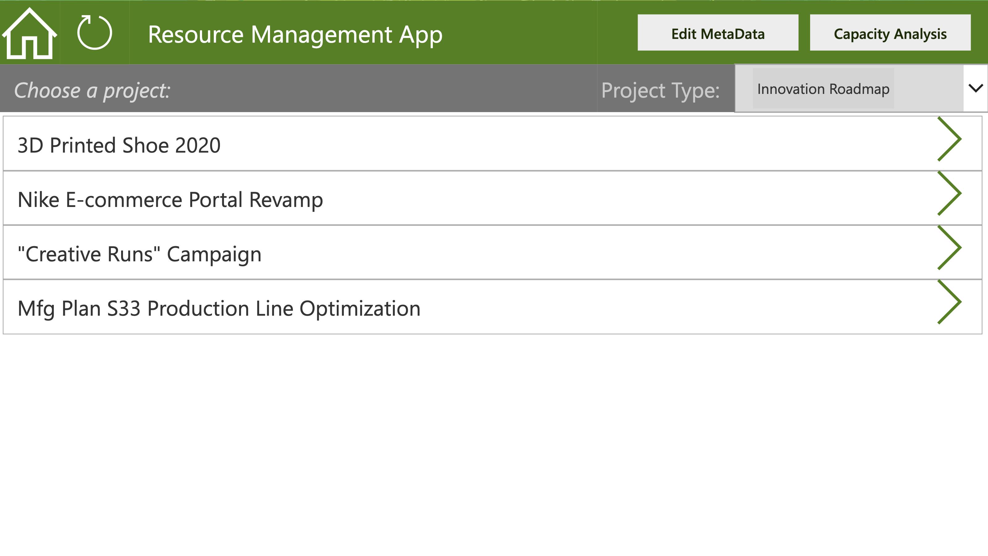 GreenData.io | Resource Demand Management, a Power App